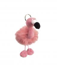 Flamingo-avaimenperä 13 x 10 cm