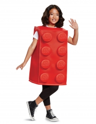 Lego®- palikka naamiaisasu lapselle punainen