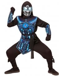 Ninjan naamiaisasu valo- ja ääniefektillä lapselle