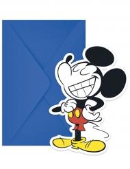 Mikki™-kutsukortit ja kirjekuoret 6 kpl