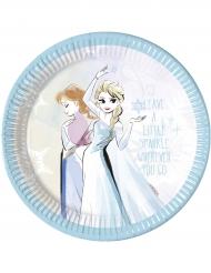 Frozen™ -paperilautaset 8 kpl