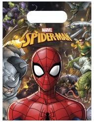 Spiderman™-lahjapussit 18 x 13 cm 6 kpl