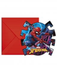Spidermna™- kutsukortit ja kirjekuoret 6 kpl