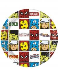 Avengers™-paperilautaset 8 kpl