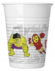 Avengers™-muovimukit 8 kpl