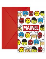 Marvel™: Avengers-kutsukortit 6 kpl