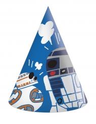 6 Star Wars Forces™ pahvista juhlahattua