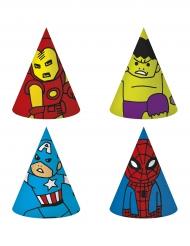 Avengers™-paperihatut 6 kpl