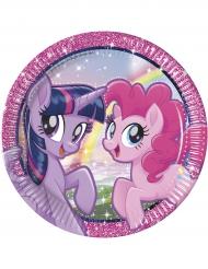 Pony & Friends -paperilautaset 8 kpl