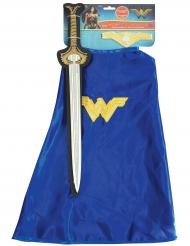 Wonder Woman™- meikka ja viittasetti tytölle