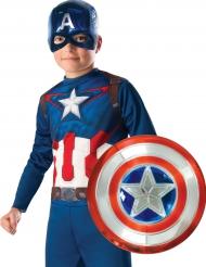 Kapteeni Amerikka™-muovinen kilpi lapselle 30 cm