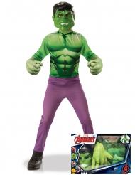 Klassinen Hulk™-naamiaisasu pojalle