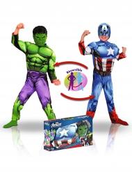 Kapteeni Amerikka & Hulk™ -lahjapakkaus lapselle