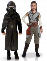 Star Wars™: Kylo Ren & Rey -naamiaisasusetti lapsille