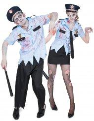 Zombiekytät - aikuisten naamiaisasusetti