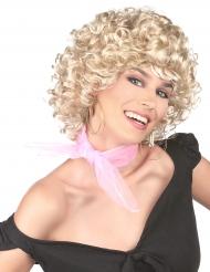 Blondi 50-luvun tyylinen peruukki naiselle