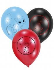 6 Lateksista Ladybug™ ilmapalloa 22,8 cm