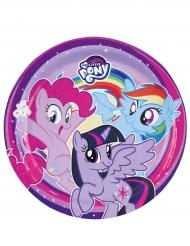 My Little Pony™- pahvilautaset 23 cm 8 kpl