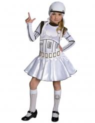 Imperiumin iskujoukkojen sotilaan™ Star Wars™-naamiaisasu tytölle