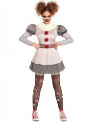 Creepy clown- naamiaisasu naiselle
