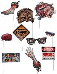 Photobooth-setti zombi 10-osaa