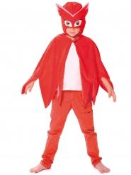 Pyjamasankarit™ -naamio ja viitta lapselle