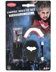 Vampyyrin meikkisetti ja hampaat