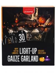 Halloween-valoköynnös sisäkäyttöön oranssi LED