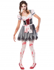 Oktoberfest/zombi- naamiaisasu naiselle