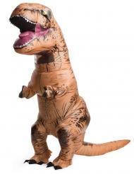 Jurassic World™: T-Rex -puhallettava naamiaisasu aikuiselle