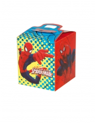 Spiderman™- neliönmuotoiset pahvilaatikot 9,5 x 9,5 x 11 cm 4 kpl