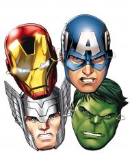 Avengers™-pahvinaamarit 6 kpl