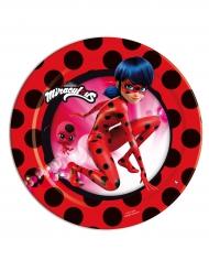 Ladybug™-pienet paperilautaset 8 kpl