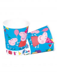 8 Peppa pig™ pahvimukia 220 ml