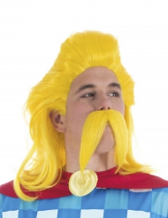 Asterix & Obelix™ - Trubadurixen peruukki ja viikset
