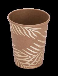 8 Kultainen palmu -pahvimukia 200 ml