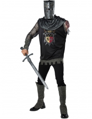 Käsivarrettoman ritarin naamiaisasu aikuiselle premium