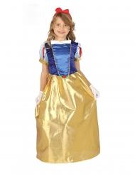 Metsäprinsessan satiininen mekko tytölle
