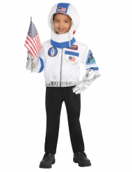 Astronautin naamiaisasusetti lapselle