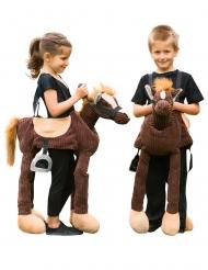 Ponin selässä-asu lapselle