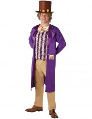 Jali ja Suklaatehdas™ Willy Wonkan™ naamiaisasu aikuiselle