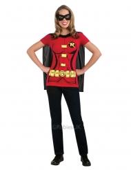 Robin™ t-paita ja naamari naiselle