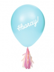 8 Tupsullista ilmapalloa ja tarrat 20,3 cm