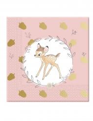 20 Bambi™ servettiä 33 x 33 cm
