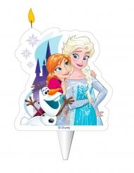 Anna, Elsa ja Olaf™- syntymäpäiväkynttilä 8 cm