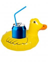 Mini ankka uimarengas juomalle