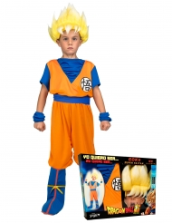 Super Saiyan Goku Dragon Ball™-naamiaisasusetti lapselle