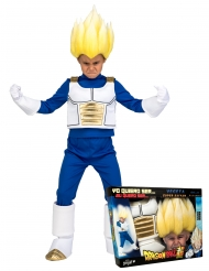 Super Saiyan Vegeta Dragon Ball™- lahjapaketti peruukilla lapselle