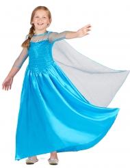 Tytön jääkuningatar mekko