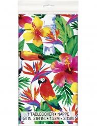 Palm Tropical Luau- muovinen pöytäliina 137 x 213 cm